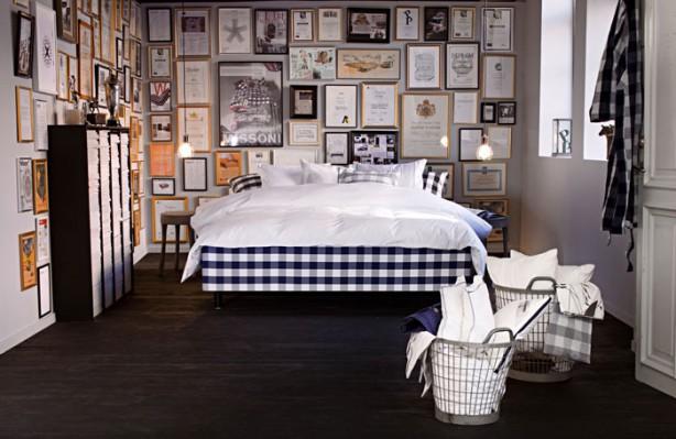 Hastens e la camera da letto in stile shabby chic arredamenti pjm international - Camera da letto arredamento moderno ...