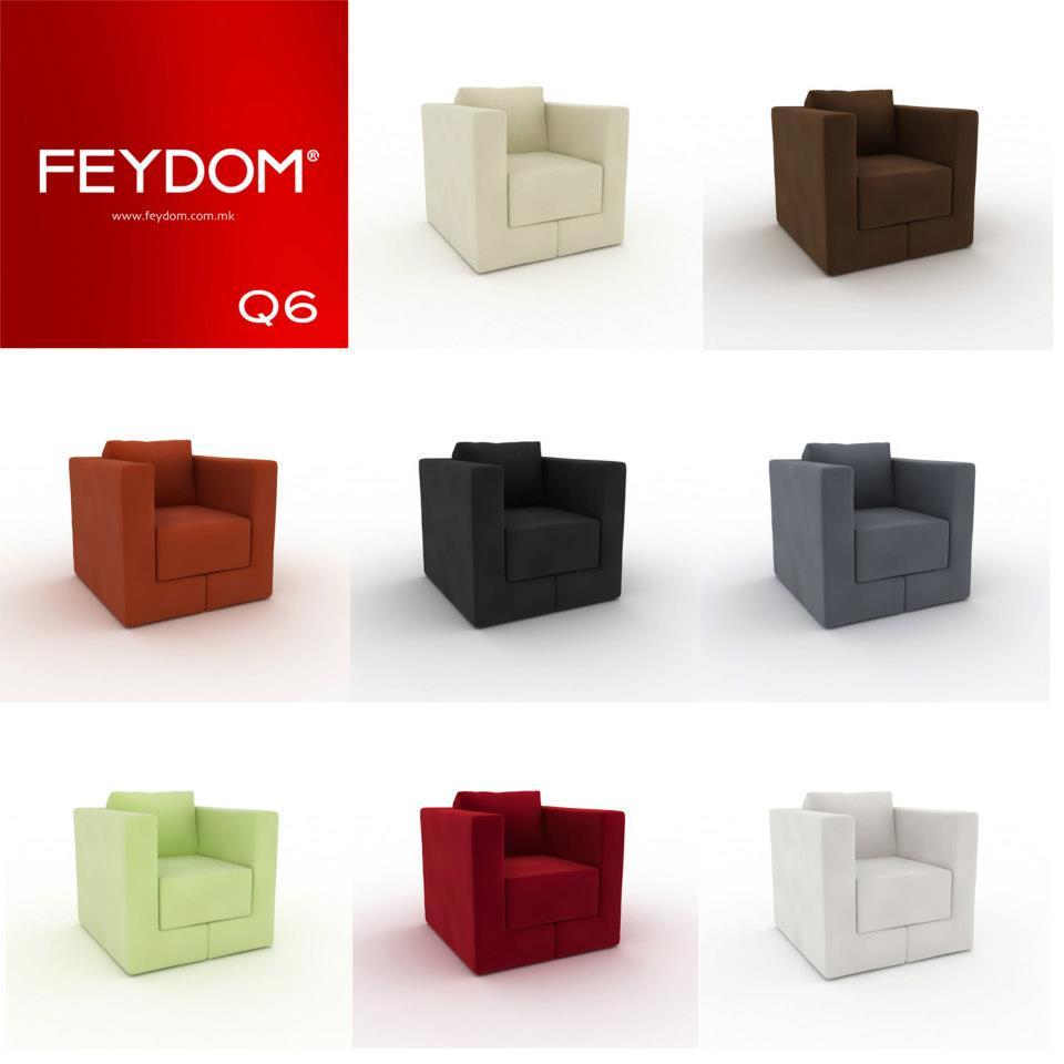 Poltrona Letto Q6 di Feydom – Arredamenti PJM International