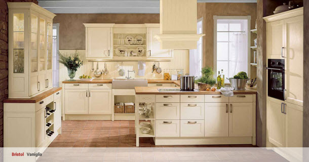 Cucine hacker linea country arredamenti pjm international for Linea arredamenti